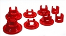 2010 2011 2012 2013 Camaro Polyurethane Rear Sub Frame Bushing Set (Red or Black) #3.4168 by Energy Suspension