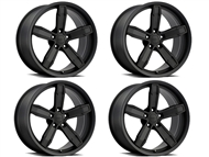Factory Reproductions IROC-Z Wheels Satin Black - fits all 2010-2021 Camaro SS, LS, LT, RS, non-RS, 1LE & ZL1 Models