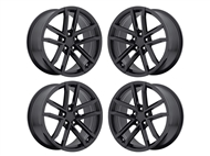 Factory Reproductions FR 41 ZL1 Replica Wheels 20x10 & 20x11 Gloss Black, Set of 4 - fits all 2010-2021 Camaro SS, LS, LT, RS, non-RS, 1LE & ZL1 Models