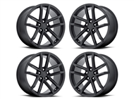 Factory Reproductions FR 41 ZL1 Replica Wheels 20x10 Satin Black, Set of 4s - fits all 2010-2021 Camaro SS, LS, LT, RS, non-RS, 1LE & ZL1 Models