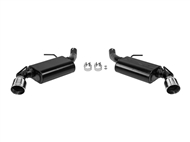 "Flowmaster American Thunder 2.5"" Axle-Back Exhaust System, Chrome Dual Tip - 2016-2019 Camaro V6"