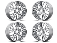 Factory Reproductions Style 28 Wheels Chrome - fits all 2010-2019 Camaro SS, LS, LT, RS, non-RS, 1LE & ZL1 Models