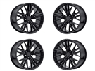 Factory Reproductions Style 28 Wheels Gloss Black - fits all 2010-2019 Camaro SS, LS, LT, RS, non-RS, 1LE & ZL1 Models