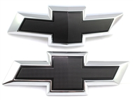 Chevrolet Black Bowtie Replacements (Front & Rear) 2016-2019 Camaro