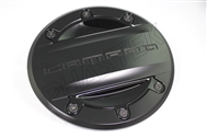 2016-2019 Camaro Custom Fuel Door GM Black