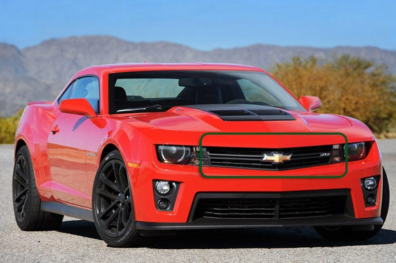 2010 2011 2012 2013 2014 Camaro ZL1 Upper Grille by GM