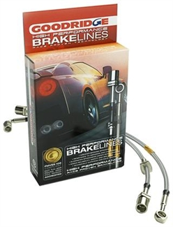 2010-2015 Camaro Stainless Steel Brake Lines Goodridge GR12219