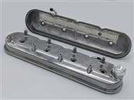 Granatelli Tall Valve Covers With Integral Angled Coil Mounts, Polished Finish :: 2010-2015 Camaro SS, ZL1, Z28