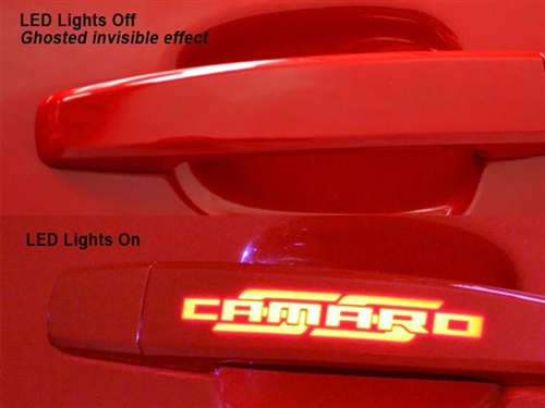 Phastek 2010-2015 Camaro Ghosted LED Door Handles