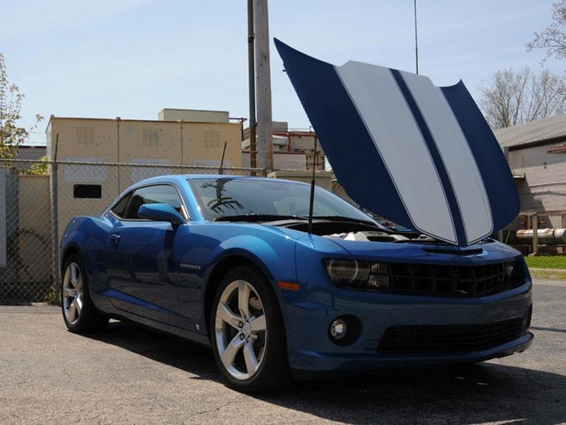 HALO Reverse Tilt Hood Kit :: 2010-2015 Camaro