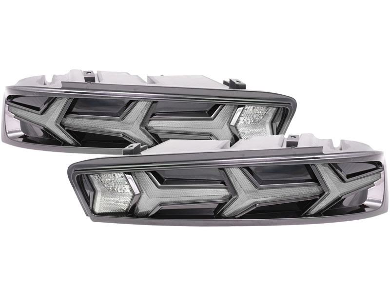 HERO Clear/Smoked Sequential Taillights :: 2016-2018 Camaro