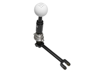 2016-2018 Camaro SS 6 Billet/Plus Short Throw Shifter by Hurst w/ Classic White Ball Handle 3916031