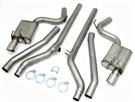 "2010-2015 Camaro SS 3"" Dual Rear Exit Exhaust System (Stainless Steel) #40-3114 by JBA Performance"