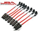 JBA Red PowerCables Spark Plug Wires :: 2010-2021 Camaro SS & ZL1