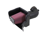 K&N AirCharger Performance Air Intake System, Red Filter :: 2014-2019 C7 Corvette