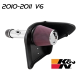 K&N Typhoon Cold Air Intake #69-4520TP - Adds 13.5 hp - fits 2010 & 2011 V6 Camaro models only