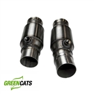 "Kooks 3"" x 2 1/2"" OEM Connection Pipes WITH Green cats (for connection to OEM or Kooks exhaust) #22603300 :: 2016-2019 Camaro V8"