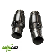 "Kooks 3"" x 2 1/2"" OEM Connection Pipes WITH Green cats (for connection to OEM or Kooks exhaust) #22603300 :: 2016-2018 Camaro V8"
