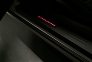 Custom LED Illuminated Door Sills (Black) :: Fits all 2010-2019 Camaro models