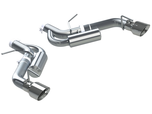 MBRP 2016-2019 Camaro Axle Back Exhaust S7036409 Stainless Steel - XP Series Exhaust