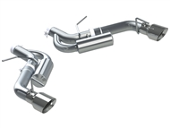 "MBRP 3"" Axle-Back Exhaust System, Aluminized Steel w/ 4"" Chrome Tips :: 2016-2019 Camaro SS Coupe"