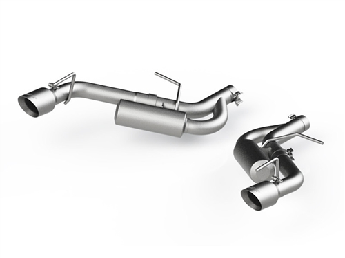 MBRP Axle-Back Exhaust - Aluminized Steel  2016-2018 Camaro V6