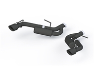 MBRP Axle-Back Exhaust - Black :: 2016-2019 Camaro V6