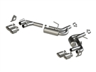 MBRP Quad Tip Axle-Back Exhaust Aluminized Steel 2016-2018 Camaro V6