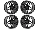 Camaro 755 Wheels Gloss Black fits all 2016-2021 Camaro SS, LS, LT, RS, non-RS, 1LE & ZL1 Models