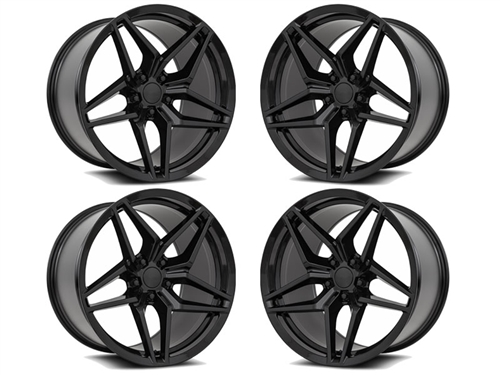 Camaro 755 Wheels Gloss Black fits all 2016-2019 Camaro SS, LS, LT, RS, non-RS, 1LE & ZL1 Models