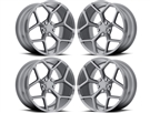 Camaro Z28 Style Wheels Gun Metal fits all 2016-2019 Camaro SS, LS, LT, RS, non-RS, 1LE & ZL1 Models