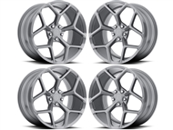 Camaro Z28 Style Wheels Gun Metal fits all 2016-2021 Camaro SS, LS, LT, RS, non-RS, 1LE & ZL1 Models