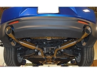 "MRT 2.5"" Version 1 Axle-Back Exhaust System, 4"" Tips :: 2019-2021 Camaro V6"