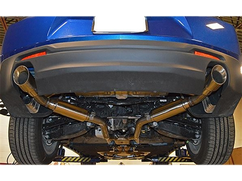 2016-2018 Camaro V6 MRT Exhaust Version 1 Axle-Back