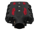 MSD Atomic AirForce Intake Manifold - Red Lettering :: 2016-2020 Camaro SS