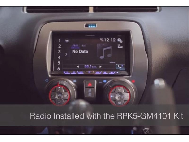 2010 2015 camaro pac audio radio dash kit parts rpk5 gm4101. Black Bedroom Furniture Sets. Home Design Ideas