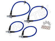 RST Brake Lines Upgrade in Blue #6BLB :: 2016-2021 Camaro SS