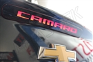 "2014-2015 Camaro 3rd brake light Blackout kit with ""CAMARO"" text!"