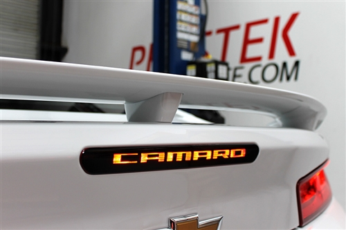 "Phastek ""CAMARO"" 3rd Brake Light Blackout Kit - 2016-2019 Camaro"