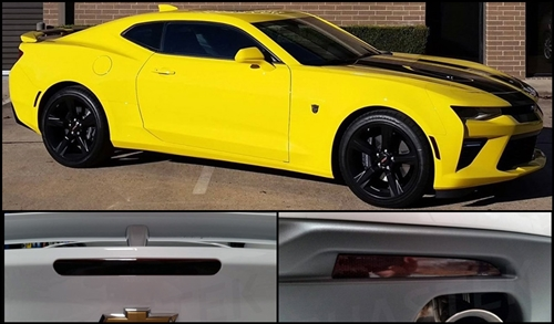 2016-2019 Camaro Blackout Kit Front Rear Sides