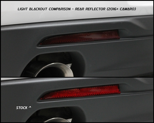 2016-2019 Camaro Rear Reflector Blackout Kit