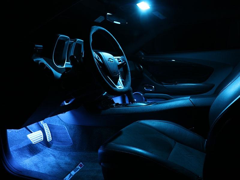Phastek Ambient Lighting Complete Kit Footwell Interior Leds 2010 2017 Camaro