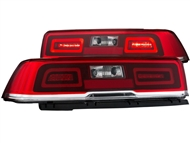 2014-2015 Non-RS Camaro L.E.D. Tailights with Red Lens and L.E.D Brake Light Part# GM651-BURE2, 03-CO14TLED