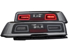 2014-2015 Non-RS Camaro L.E.D. Tailights with Red Lens and L.E.D Brake Light Part# GM651-BUSE2, 03-CO14TLEDSM