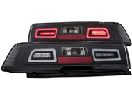 2014-2015 Non-RS Camaro L.E.D. Tailights with Red Lens and L.E.D Brake Light Part# GM651-BUWE2-BH, 03-CO14TLEDJM