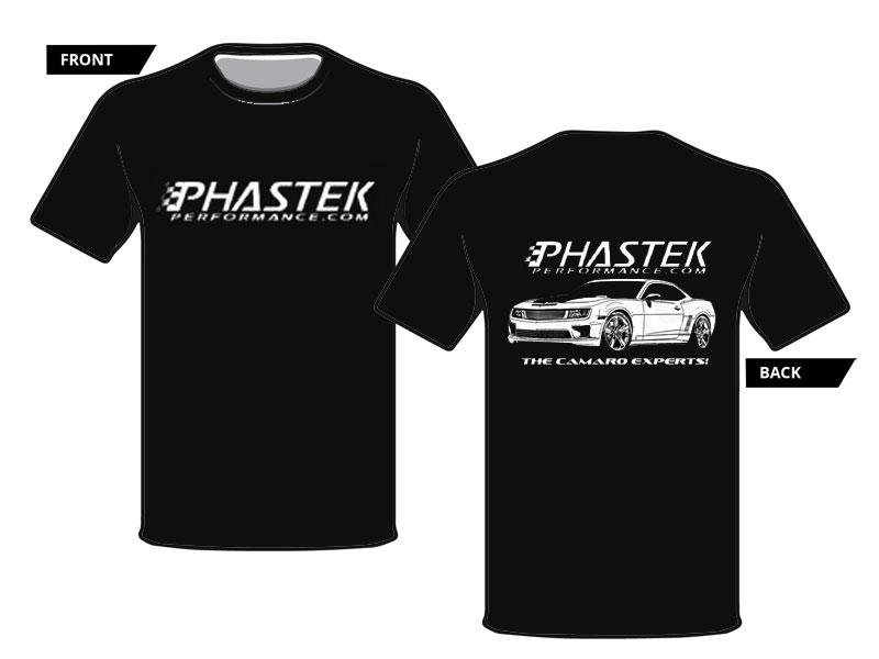 c37522eb Phastek Custom X5 Camaro T-Shirt in Black