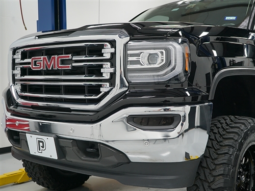 Phastek DRL Blackout Vinyl :: 2016-2018 GMC Sierra 1500