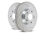 Powerstop Evolution Drilled & Slotted Rear Rotors 2016-2018 Camaro SS