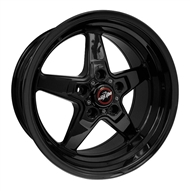 Race Star 92 Drag Star Rear 17x10.5 Gloss Black 92-705253B