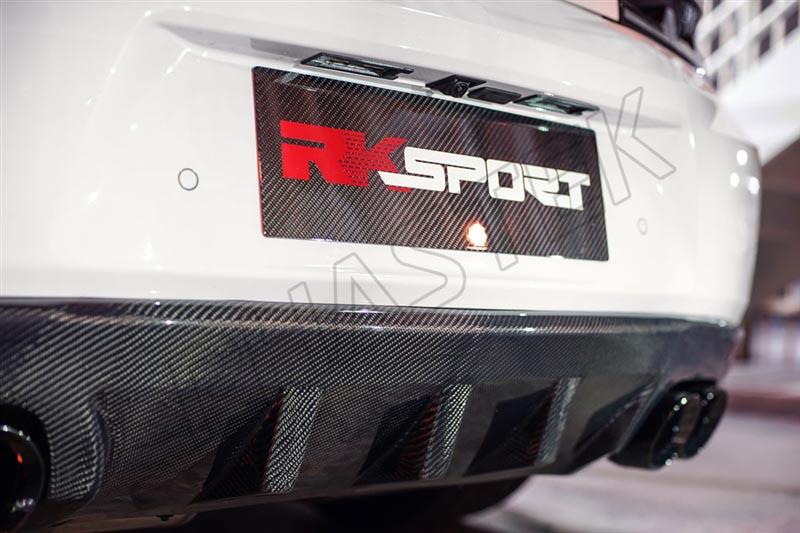 2016 2018 Camaro Rear Diffuser Npp Dual Mode Exhaust Rk Sport 40014150